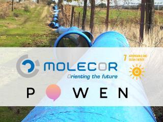 Molecor и Powen подписывают PPA (Соглашение о закупке электроэнергии), чтобы гарантировать долгосрочное самообеспечение на заводе в Loeches (Мадрид)